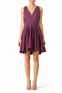 purple marilyn dress by allison parris for 40 60 With rent the runway wedding dress