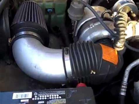 diesel 5 auf 6 umrüsten k n air filter installation for a 6 5 diesel