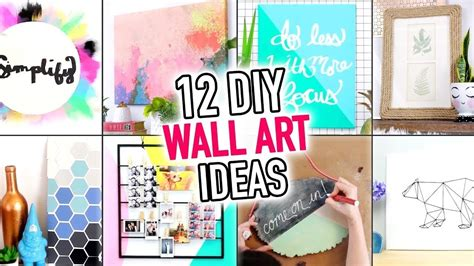 easy wall art room decoration ideas diy compilation