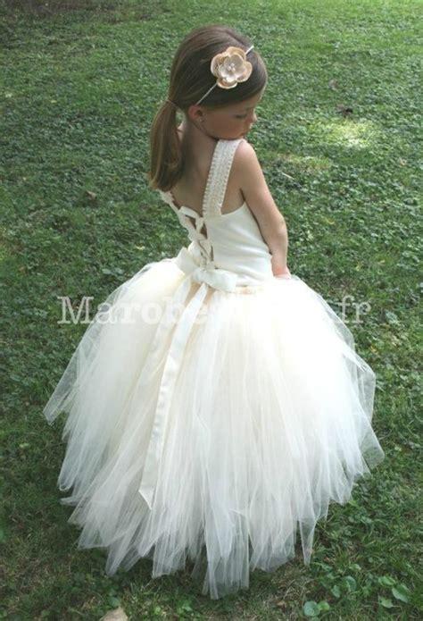 robe blanche enfant robe de cort 232 ge enfant blanche pour princesse