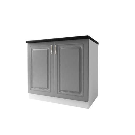 meuble cuisine 90 cm meuble bas cuisine dina 90 cm 2 portes moulures mdf