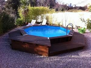Petite Piscine Hors Sol Bois : piscine hors sol en bois pas cher ~ Premium-room.com Idées de Décoration