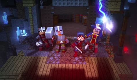 minecraft dungeons announced set   release  pc