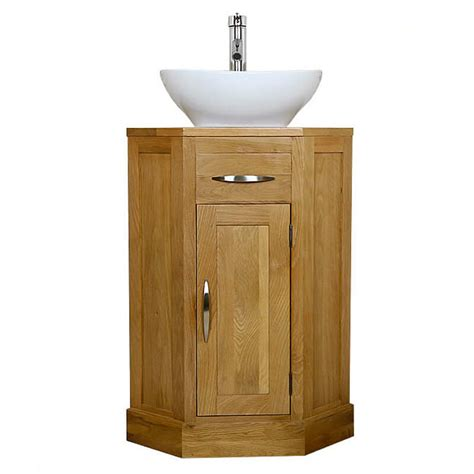 cloakroom corner vanity unit solid oak vanity unit basin