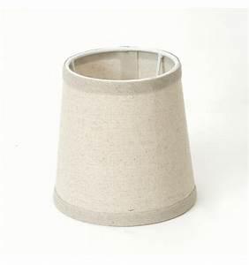 Abat Jour Tissu : abat jour conique beige en tissu pour luminaires clelia ~ Teatrodelosmanantiales.com Idées de Décoration
