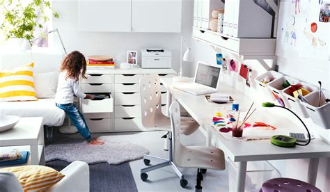 ikea bureau mike ikea workspace organization ideas 2011 digsdigs