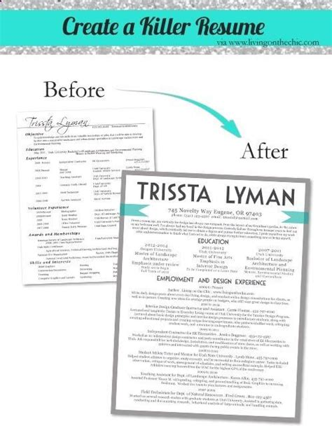 great graphic resume tips hunt resume