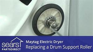 How To Replace A Maytag Electric Dryer Drum Support Roller