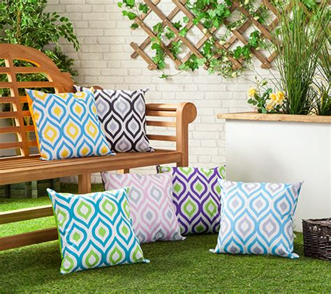 waterproof canvas outdoor cushions water resistant scatter