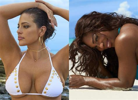 ashley williams swimsuit ashley graham is back for si swimsuit issue serena