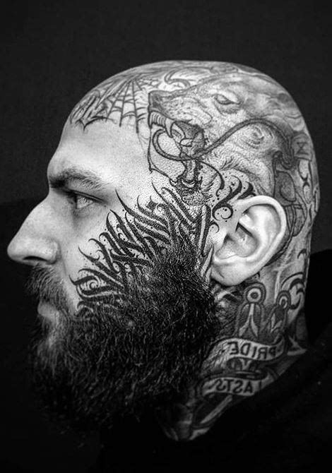 125 Trendy Face Tattoos and Ideas For Men & Women - Tattoo Me Now