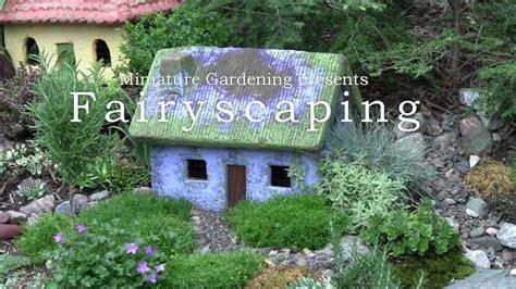 fairyscaping an outdoor cottage garden