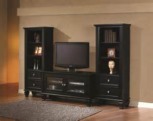 roomtogo kids coaster 702251 black wood tv stand a sofa