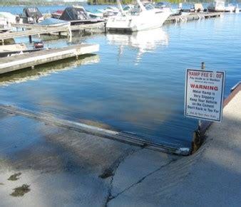 Winterizing Legend Boat by Rice Lake Boat Launch At Harris Boat Works Harris Boat