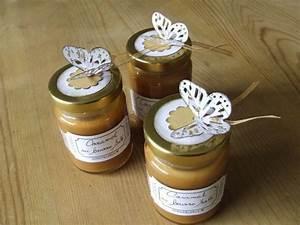 Pot En Verre Deco : d coration de petit pot en verre de caramel au beurre ~ Melissatoandfro.com Idées de Décoration