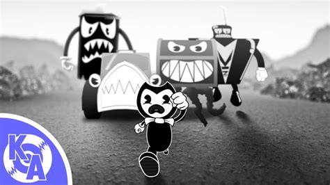 bendy nightmare run song escape  nightmare feat