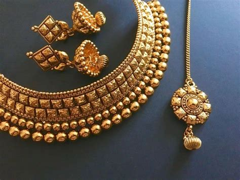 Antique Gold Design Bridal Indian Choker Set In By Mayilcreations Antique French Chinoiserie Furniture Dressers With Round Mirrors Drawer Pull Styles Prayer Rugs Upright Grand Piano Value Wrought Iron Outdoor Benches Pocket Watch London Cars On Kijiji