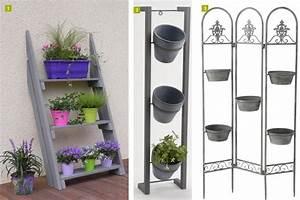 Etagere Pour Fleur : etagere bois pour plantes ~ Zukunftsfamilie.com Idées de Décoration