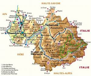 Carte Grise Savoie : carte departement isere ~ Medecine-chirurgie-esthetiques.com Avis de Voitures