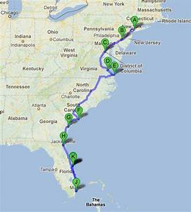 Blog Road Trip Usa : road trip along the east coast of usa ~ Medecine-chirurgie-esthetiques.com Avis de Voitures