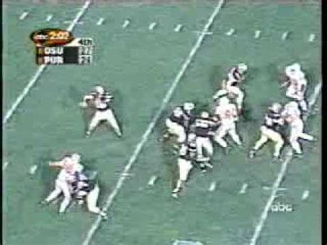 today marks 64 days until kickoff holy toledo let us remember this 64 yard winning td