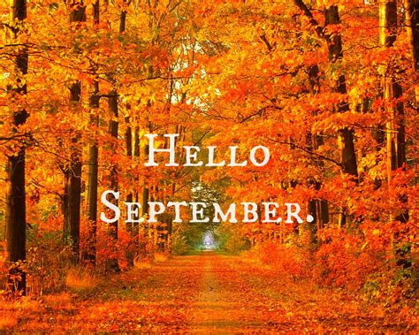 All Seasons Sweet to Me: Hello September