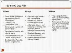 30 60 90 Plans