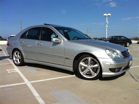Mercedes C Class Sedan Modification by I Drive Toyota 2005 Mercedes C Classc230 Sport Sedan
