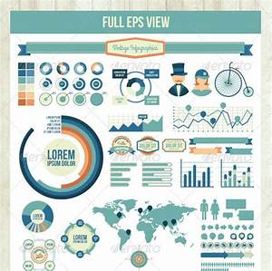 Awesome Charts And Graphs 40 Fancy Infographic Design Elements Bashooka