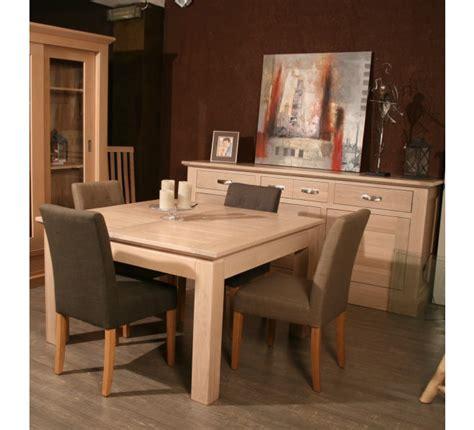 style house canapé table carree avec allonge chêne massif quot stockholm naturel