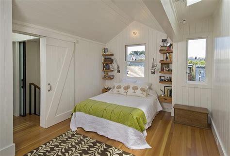bedroom  sliding barn door contemporary bedroom