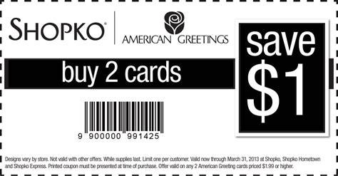 American Greetings Coupons Printable