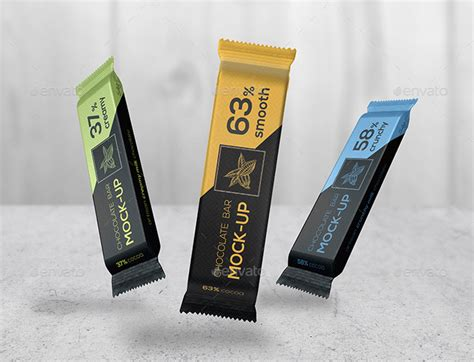 Best free packaging mockups from the trusted websites. 20 Candy Chocolate Bar Mockup Templates Free & Premium ...