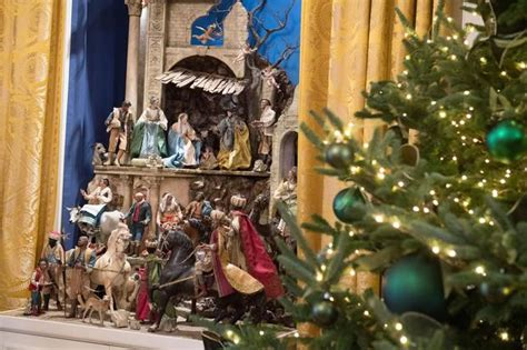nativity scene white house christmas  pictures