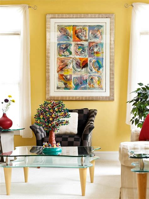 Brown Decor Living Room by Decorar Con Cuadros 25 Ideas Para El Hogar Moderno