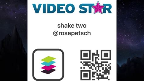 Qr Codes For Videostar [transitions]