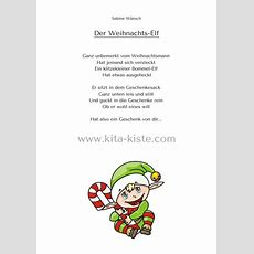 """Gedicht Kindergarten Spruch Weihnachten Elfen """"weihnachts"""