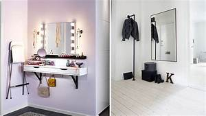 Miroir Maquillage Ikea : 6 astuces dans l 39 entr e pour gagner du temps le matin ~ Teatrodelosmanantiales.com Idées de Décoration