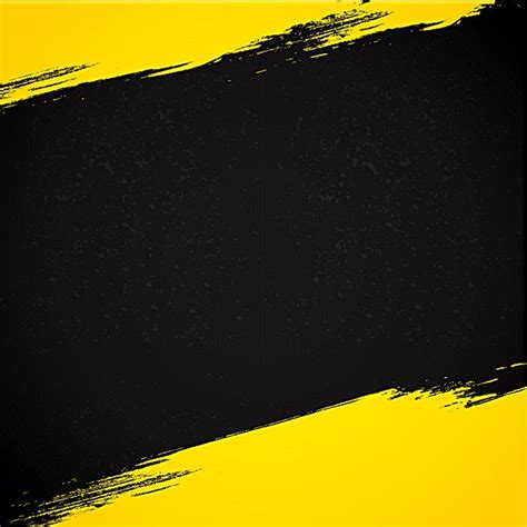 yellow  black ink abstract background