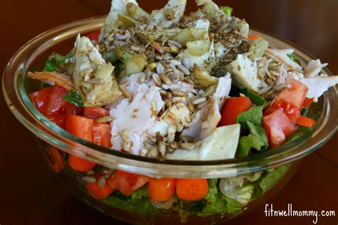 everything but the kitchen sink salad wiaw typical day of eats deliciously fit 9652