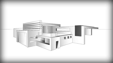 bungalow floor plan architecture design 7 drawing a modern house