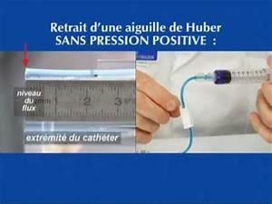 Perfusion a domicile retrait de l39aiguille de huber en for Pression positive chambre implantable