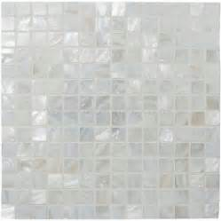 innocence shell mosaic gloss tile 305 x 305 x 2 mm ew