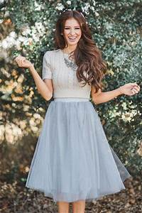 20 Fashionable Tulle Skirt Outfits for Summer
