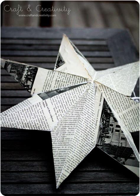 cute diy newspaper decoration ideas