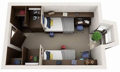 Floor 3d Plans Student Apartments Housing Apartment