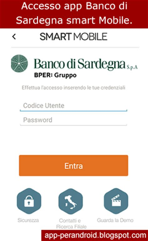 app android bper smart mobile app home banking
