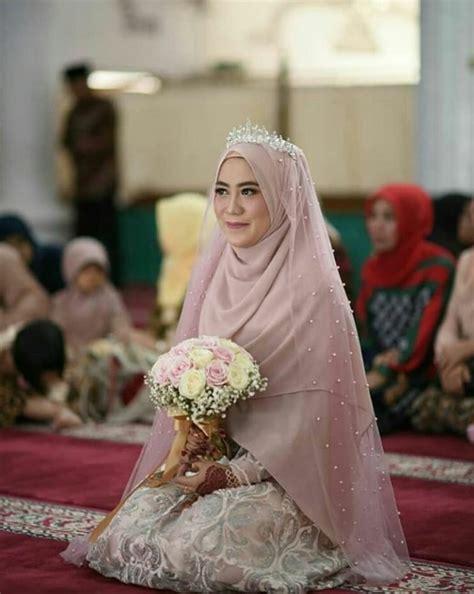 model hijab pengantin syari  modern    cantik terbaru cantikers