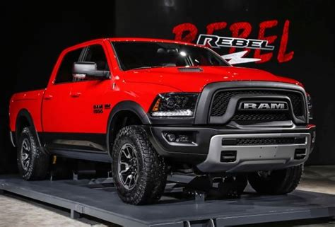 2016 Ram 1500 Rebel Price, Specs And Redesign