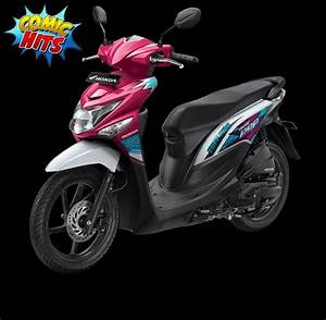 Jual Motor Honda New Beat Pop Esp Cbs Iss Pixel  Comic Di